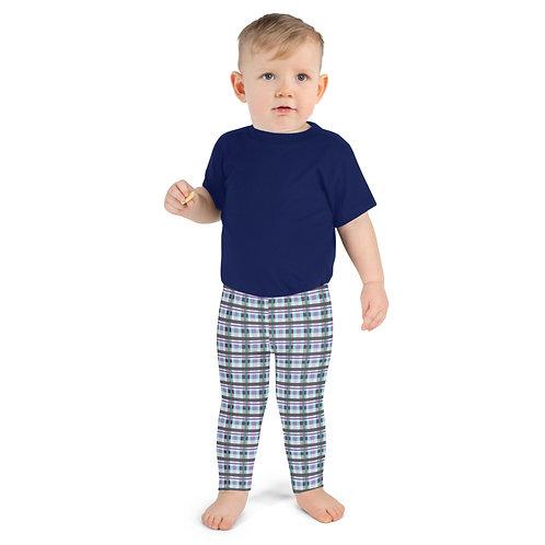 Purplepus Plaid Kid's Leggings