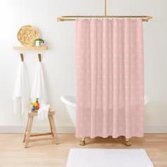 Elegant Crosses Shower Curtain