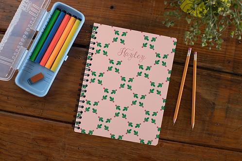 Rosey Berries Notebook