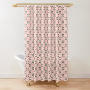 Rosey Berries Shower Curtain