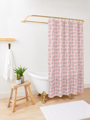 Floating Bubbles Shower Curtain