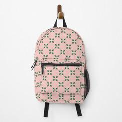 Rosey Berries Back Pack