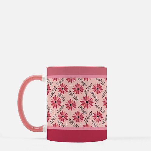 Sugar Plum Daisies Mug