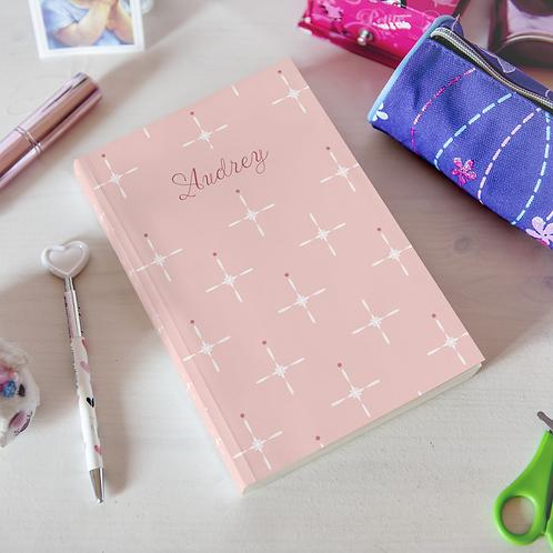 Elegant Crosses Hardcover Journal