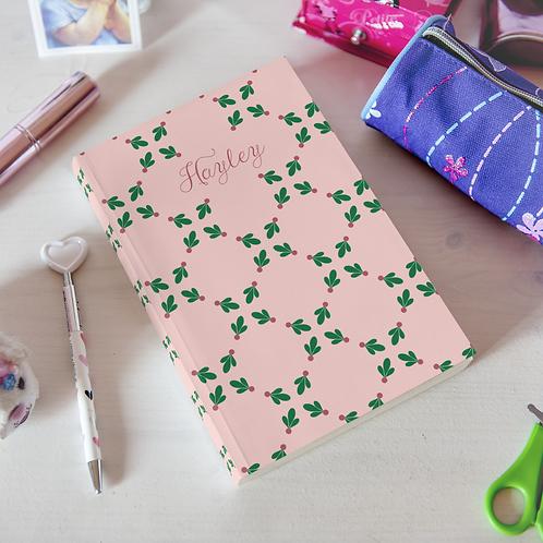 Rosey Berries Hardcover Journal