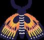 OrangeYellowBlueButterfly.png