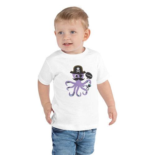 Piratepus Toddler Short Sleeve Tee