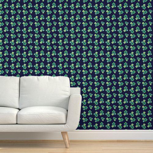 Rhombus Rhapsody Wallpaper