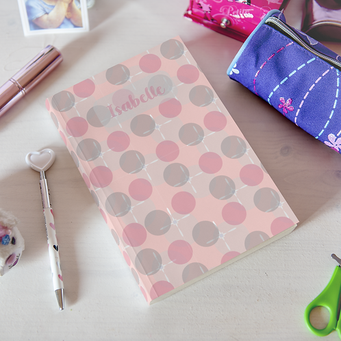 Floating Bubbles Hardcover Journal