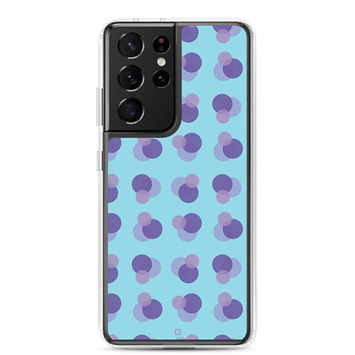Samsung Case in Too Cool Bubbles