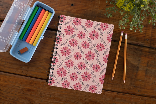 Sugarplum Daisies Notebook