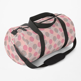 Floating Bubbles Duffle Bag
