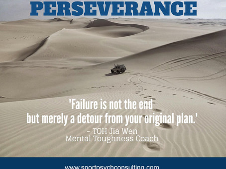 Mental Toughness Quote: Perseverance