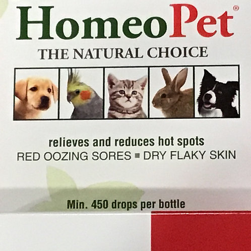 Homeo Pet Hot Spots