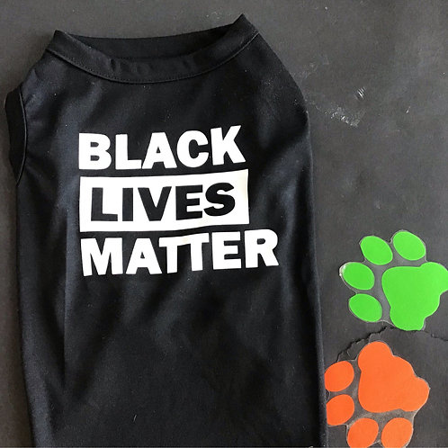 Black Lives Matter Puppy Shirt