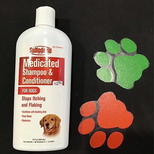 Sulfodene Medicated Shampoo & Conditioner