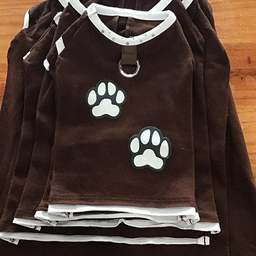 Brown Paw Shirt