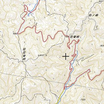 花脊峠地理院地図.jpg