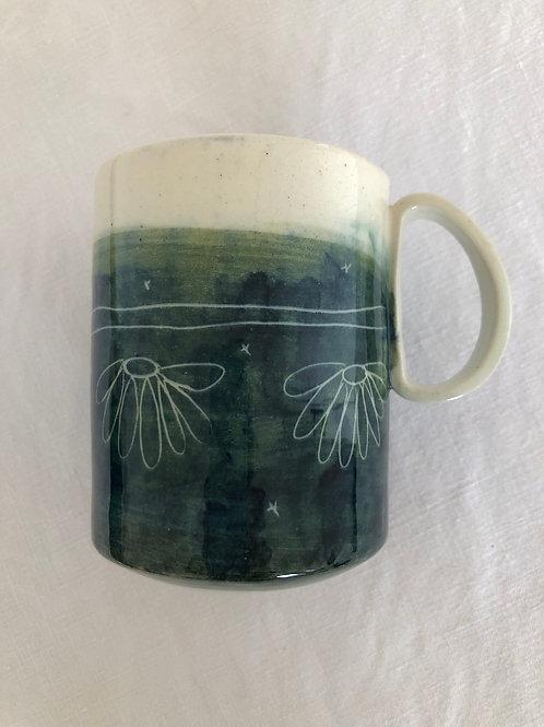 Mug Flowers simple