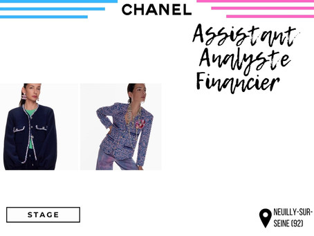 Chanel - Assistant Analyste Financier  (Stage)
