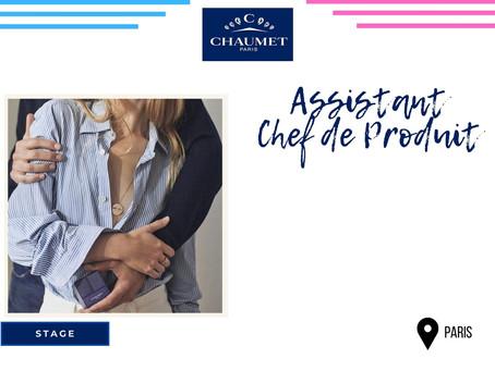 Chaumet - Assistant Chef de Produit (Stage)
