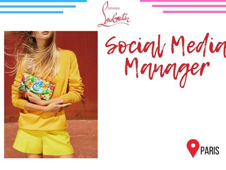 Christian Louboutin - Social Media Manager