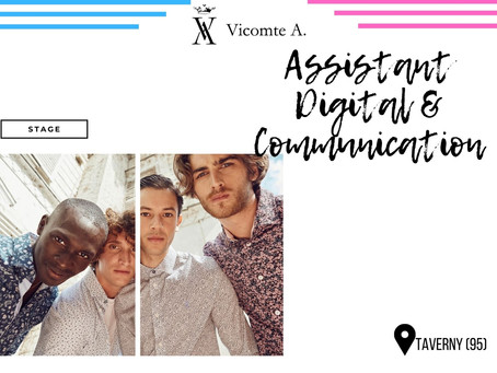 Vicomte A - Assistant Digital & Communication (Stage)