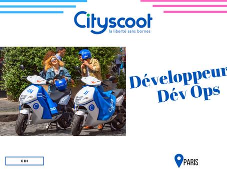 Cityscoot - Développeur Dév OPS (CDI)