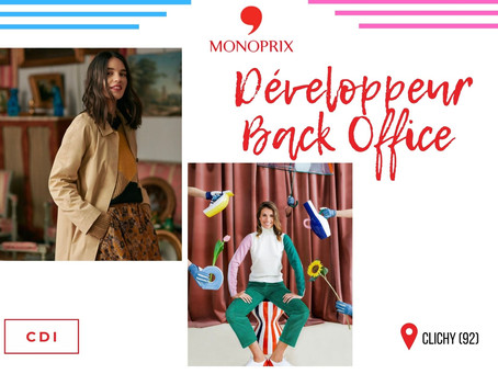 Monoprix - Développeur Back Office (CDI)