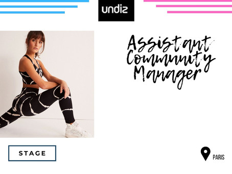 Undiz - Assistant Community Manager  (Stage)