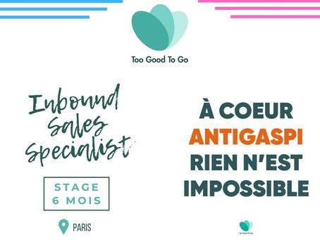 Too Good To Go - Inbound Sales Specialist (Stage)