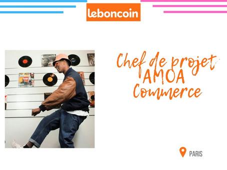Leboncoin - Chef de projet AMOA Commerce