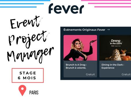 Fever - Event Project Manager (Stage)
