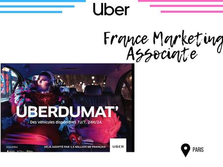 Uber - France Marketing Associate