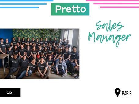 Pretto - Sales Manager (CDI)
