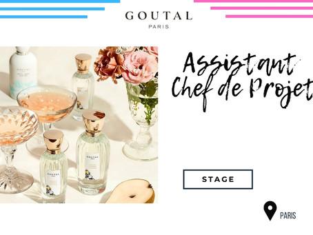 Goutal Paris - Assistant Chef de Projet Formation Internationale Produit et Marque (Stage)