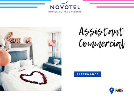 Groupe Novotel - Assistant Commercial  (Alternance)