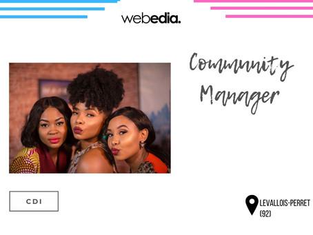 Webedia - Community Manager (CDI)