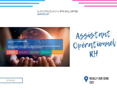Morgan Philips Group - Assistant Opérationnel RH (Stage)