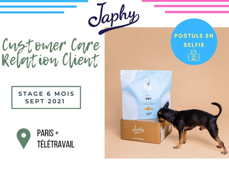 Japhy - Customer Care Relation Client (Stage)
