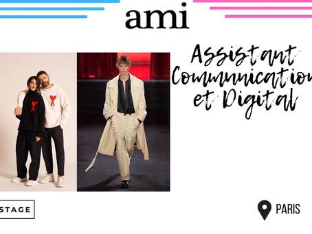 AMI - Assistant Communication et Digital (Stage)