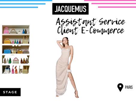 Jacquemus - Assistant Service Client E-Commerce (Stage)