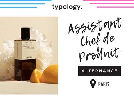 Typology - Assistant Chef de Produit (Alternance)