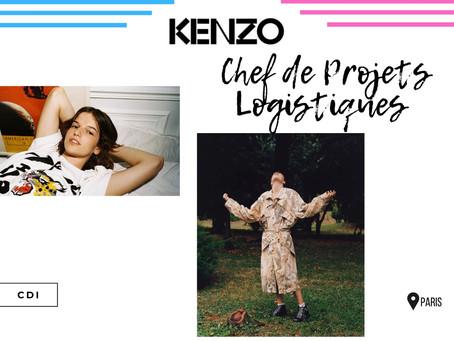 Kenzo - Chef de Projets Logistiques (CDI)