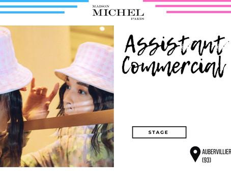 Maison Michel - Assistant Commercial (Stage/Alternance)