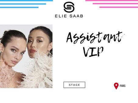 Elie Saab - Assistant VIP (Stage)