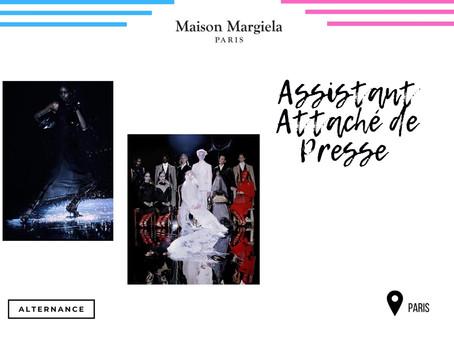 Margiela - Assistant Attaché de Presse (Stage)