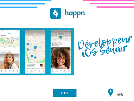 Happn - Développeur IOS Senior - (cdi)
