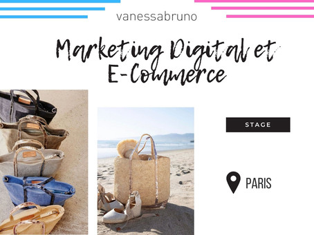 Vanessa Bruno - Marketing Digital et E-Commerce (Stage)