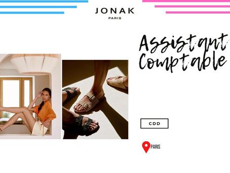 Jonak - Assistant Comptable (CDD)